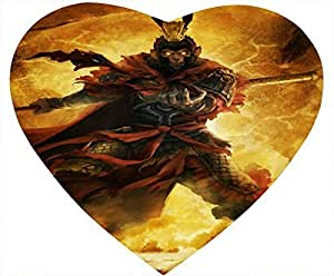 Journey to the West Heart Shaped Mouse Pad - Rush Out by mcsharks