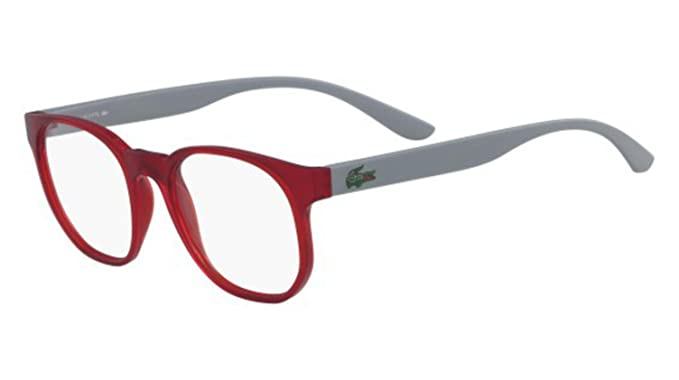 cc19ab21645 Eyeglasses LACOSTE L 3908 615 MATTE RED at Amazon Men s Clothing store