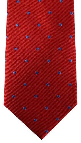 Dot Red Tie Hagen Van David Polka Blue qfAwztXUn