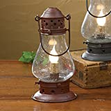 country kitchen table lamps Tall Red Onion Lamp 9-1/2