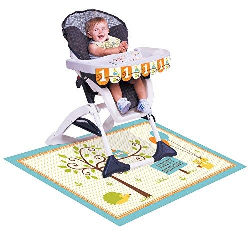 Happi Woodland Birthday High Chair