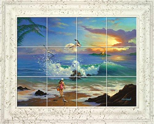 Through the Eye of a Child UV Framed Ceramic Tile Mural 31