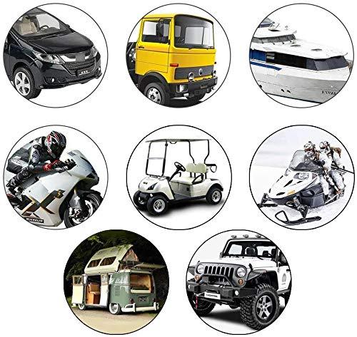 51NSIB CiiL 400 Stück Mini sicherungen Kfz,200+200 Stück Autosicherungen Set für Teile und Zubehör für Automobil, LKW, Geländewagen…