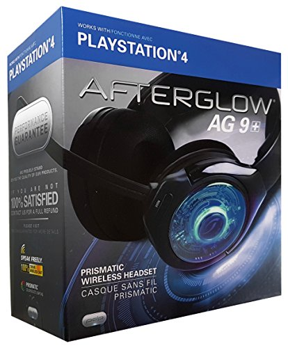 PDP Afterglow AG 9 Wireless Headset for PlayStation 4