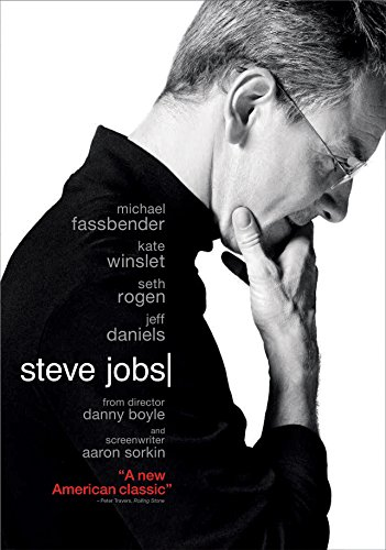 Image result for steve jobs fassbender dvd cover