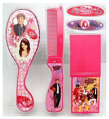 High School Musical Dress Up (Disney's High School Musical Pink Accessory Hair Care Set (4pc))