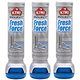 Kiwi Fresh Force Shoe Freshener Aerosol, 3 Pack