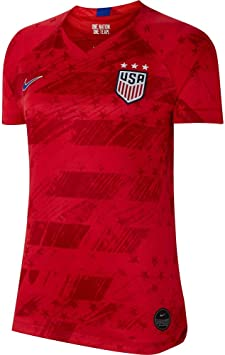 Nike 2019-2020 USA Away Womens Football Soccer T-Shirt Camiseta ...