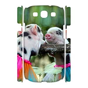 Cute Pig Phone Case For Samsung Galaxy S3 I9300 [Pattern-1]