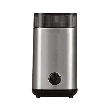 Coffee grinder Yang máquina de café Manual- Molinillo de café eléctrico Acero Inoxidable 220 ML Pequeña Amoladora Comercial Plata de la máquina - Molinillo ...