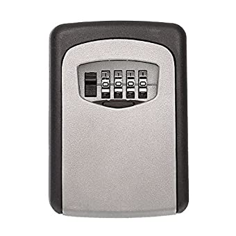 Tekmun Realtor Wall Mount Key Lock Box With 4 Digit