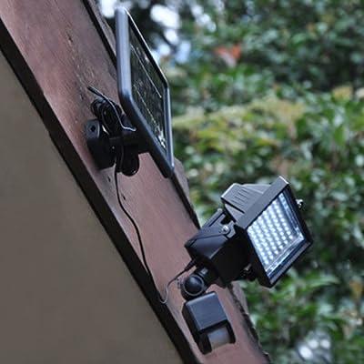 Motion Sensor Solar Power Ultra Bright Security LED Light Flood Lamp