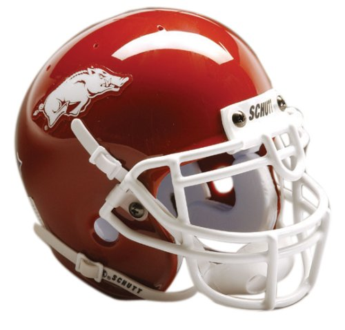 NCAA Arkansas Collectible Mini Football Helmet - Arkansas Razorbacks Mini Helmet