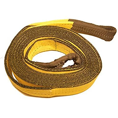 3 , 30' Tow strap, Recovery Strap 30,000 LB capacity