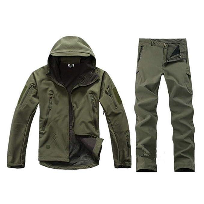 Amazon.com: Tactical Gear - Chaqueta de forro polar ...