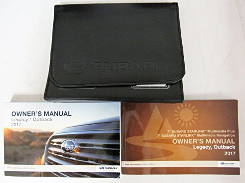 Subaru Outback Owners Manual - 2017 Subaru Legacy / Outback Owners Manual Guide Book