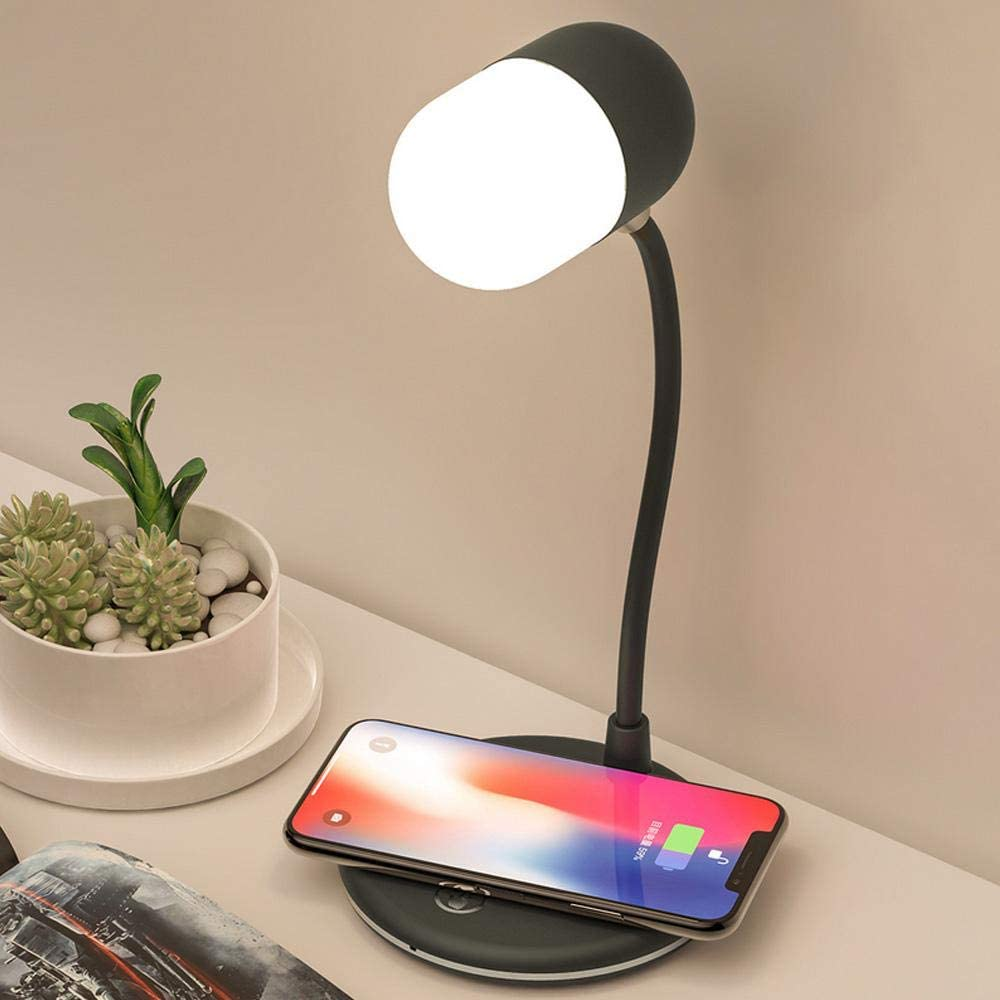 Bedside Lamp with Bluetooth Speaker and Wireless: Amazon.co