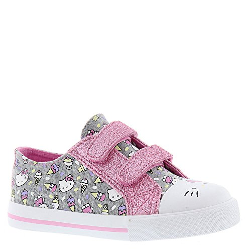 HELLO KITTY Lil Frosty Girls Toddler Fashion Sneakers (7 M US Toddler)