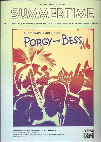 Kindle ilmaiseksi kirjoja ladata Summertime - Porgy and Bess - Piano/Vocal/Guitar PDF