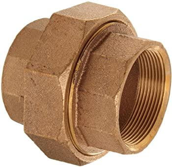 "Brass Pipe Fitting, Class 125, Union, 1"" NPT Female"