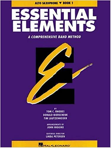 Amazon Essential Elements E Flat Alto Saxophone Book 1 9780793512560 Various Books