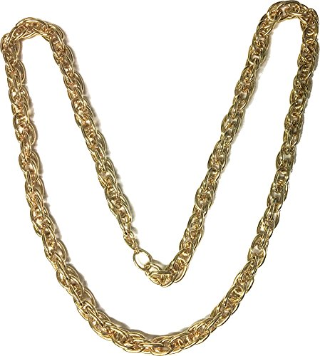 The Rapper Game Halloween Costume (Rubie's Costume Old School Cable Chain - Costume Accessory)