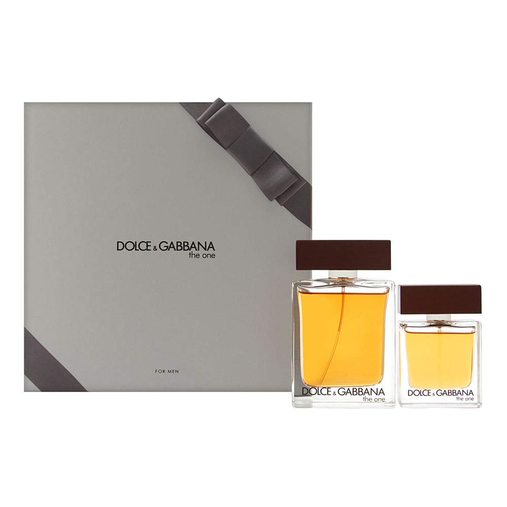 Dolce & Gabbana The One for Men 2 Piece Set with 3.3 Ounce Eau de Toilette Spray + 1.0 Ounce Eau de Toilette Spray