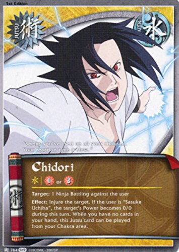 Naruto Card - Chidori 764 - Path of Pain - Common - Foil - 1st Edition