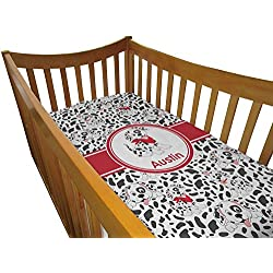Dalmation Dog Crib Boy's Comforter / Quilt (Personalized)