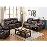 Amazoncom Leather Living Room Sets Living Room Furniture Home