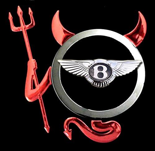 Bentley - Devil Teufel Auto Logo car T-Shirt -223