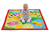 Galt Large Playmat Farm Multi-Sensory – Over 3 Feet (39″ x 39″), Ages Birth, Baby, Infant, Toddler Review