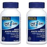 One A Day Multivitamin, Men's Health Formula, 200 Tablet Bottle, 2 Pack