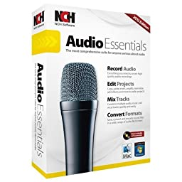 Nch Software Audio Essentials - Audio Editing Retail - Mac, Pc - English, Spanish \
