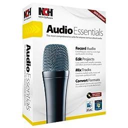 Nch Software Audio Essentials - Audio Editing Retail - Mac, Pc - English, Spanish \