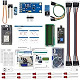 IDEASPARK ESP8266 Smart Flower Pot Kits with DHT11 Temperature and Humidity Sensor BH1750FVI Light Sensor Soil Moisture Sensor for Arduino IDE IoT Starter(Guidance Document Included)