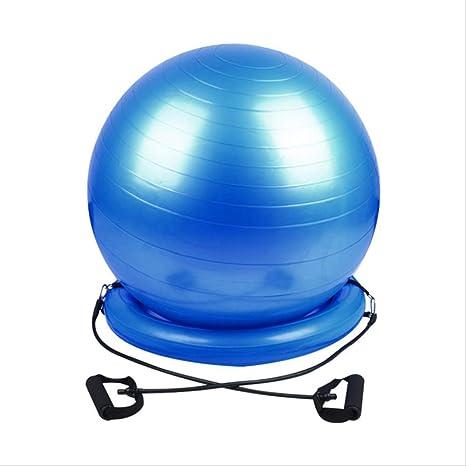YJQQ Pelota De Yoga con Base De Estabilidad Bandas De ...