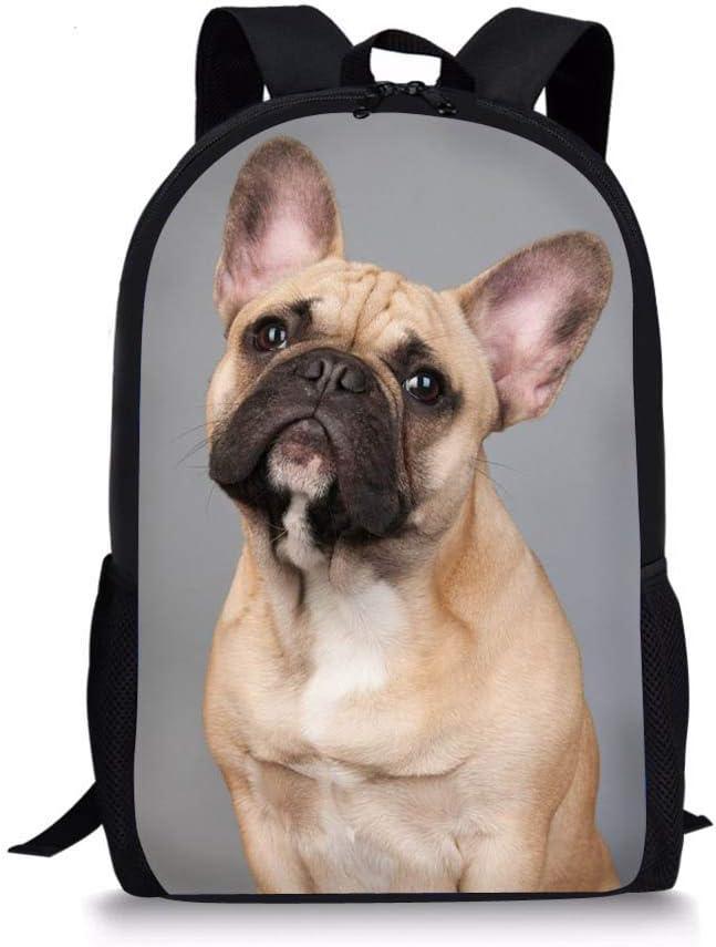 Nopersonality Sac /à Dos Scolaire Fille Cartable pour Ecole Primaire Mignon Schoolbags Bookbag Chat imprim/é Gris