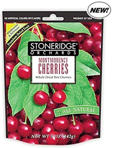Stoneridge Orchards All Natural Montmorency Cherries 5 Oz   2 Pack