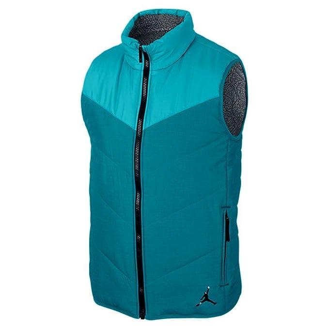 b60e0f2eee2b11 Jordan Men s Nike Ele Padded Reversible Puffer Vest-Black  Amazon.ca   Clothing   Accessories