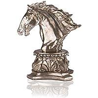 Porio Gümüş At Biblo 41 Cm