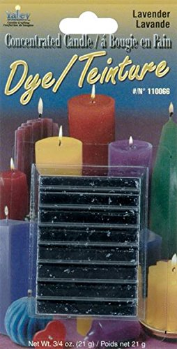 Yaley Concentrated Candle Dye Blocks, 0.75-Ounce, Lavender