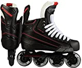 TOUR Hockey CODE 7 Junior Inline Hockey Skate, Black, 01