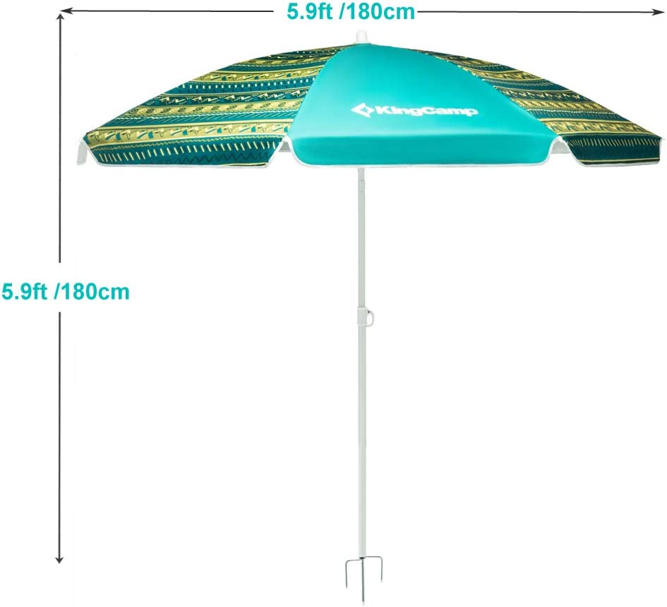 Portable Beach Cabana Tent Sun Shelter 180cm UPF50 Carry Bag Protect Outdoor