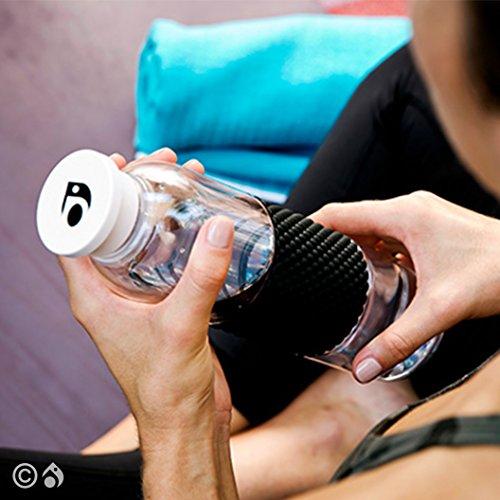 Lokai Water Bottle- Sleek, Sustainable Water Bottle, 19 oz., BPA free, Titan safe plastic