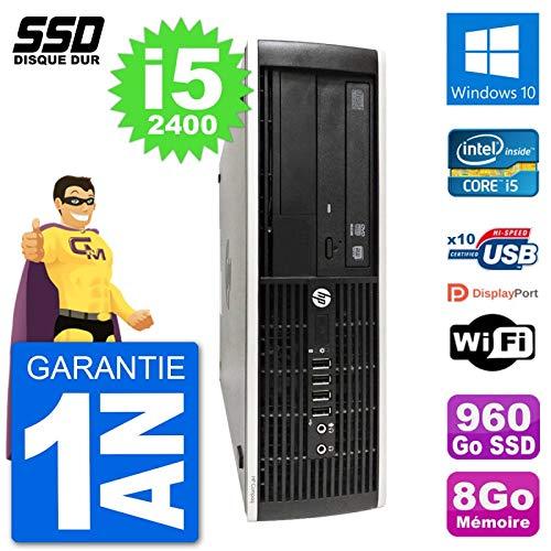HP PC Compaq Pro 6300 SFF Intel i5-2400 RAM 8GB SSD 960GB Windows ...