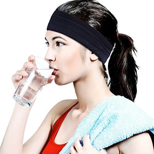 HopMore Sport Hoofdband voor Vrouwen Mannen Elastische Hoofdband Sweatband Hoofddeksels