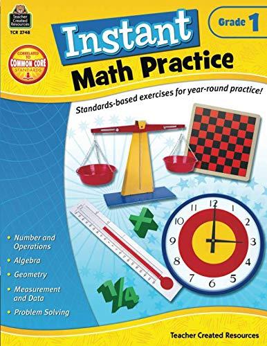 - Instant Math Practice, Grade 1