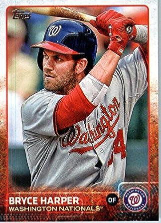 Amazoncom 2015 Topps Mini 207 Bryce Harper Baseball Card