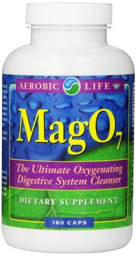 Aérobie vie Mag 07 oxygène Système digestif Cleanser Capsules, 180 comte